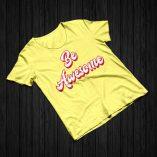 Be Awesome - Lemon