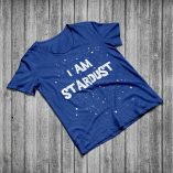 I Am Stardust - Heather Blue